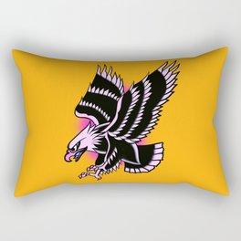 Águila rosa Rectangular Pillow