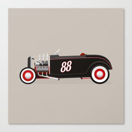 Flathead Roadster Canvas Print