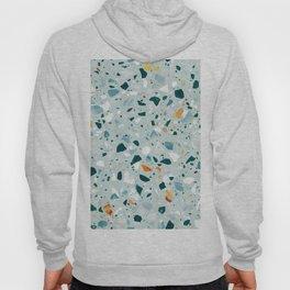 Mint Terrazzo #pattern #abstract Hoody