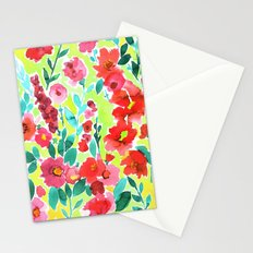 Isla Floral Yellow Stationery Cards