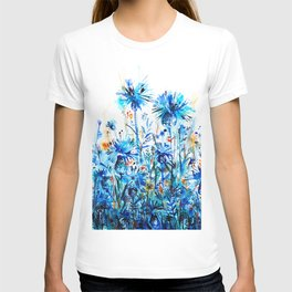 thickets of cornflowers T-shirt