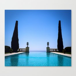 Endless French Riviera Canvas Print