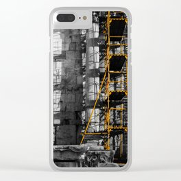 Ancient scaffold Clear iPhone Case