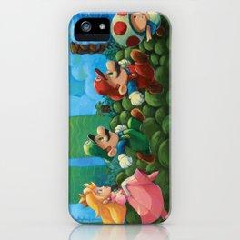 Super Mario Bros 2 iPhone Case