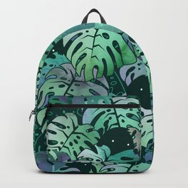 Monstera Monsters Backpack