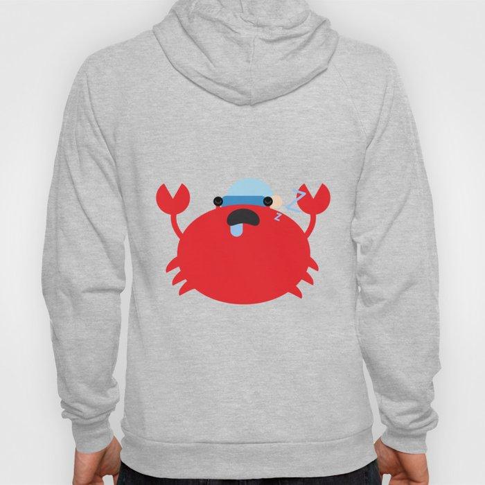 Sleepy Crab Hoody