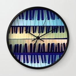 piano1 Wall Clock