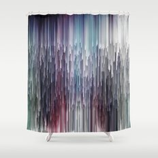 Planet Pixel Alice Shower Curtain