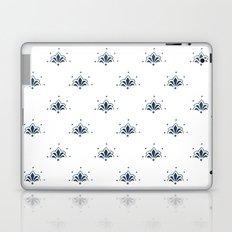 Blå Blomst Laptop & iPad Skin