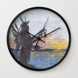Mni Wiconi Wall Clock