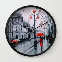 St. Petersburg Admiralty Avenue Wall Clock