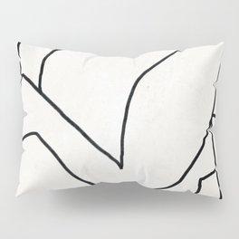 Abstract line art 2 Pillow Sham