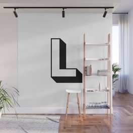 Letter L ... As Easy As ... Wall Mural