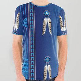 Crazy Horse All Over Graphic Tee