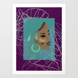 baddie02 Art Print