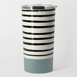 River Stone & Stripes Travel Mug