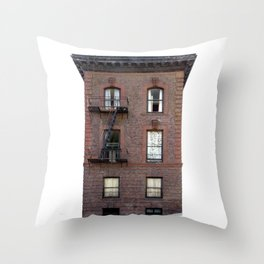 Brick House San Francisco Throw Pillow