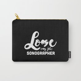 Sonographer, Ultrasound tech gift idea Carry-All Pouch