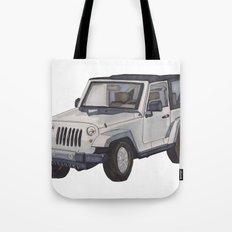 Jeep Wrangler 2012 Tote Bag