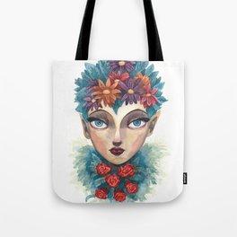 Spring Goddess Tote Bag