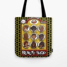 Beauty Shop Tote Bag