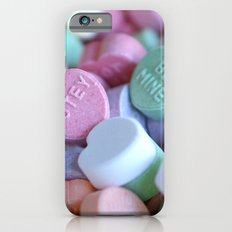 Candy Hearts iPhone 6s Slim Case
