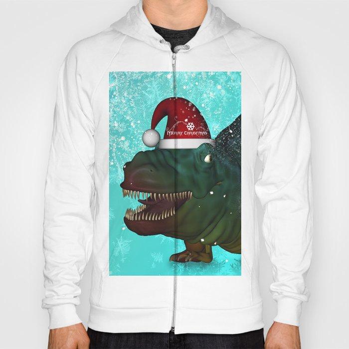 T-rex, merry christmas Hoody