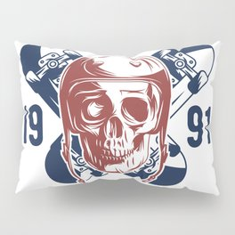 Born to Skate Pillow Sham