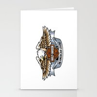 harley Stationery Cards featuring harley by Megoer