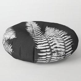 Pacific Northwest Silver Fern Forest Adventure Floor Pillow