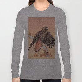 Red-tailed hawk Long Sleeve T-shirt