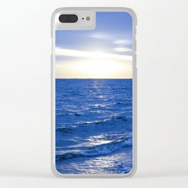 Heavenly Blues - Gagliano Photography Clear iPhone Case
