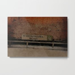 Old Haunts - Whitechapel Road,  London Metal Print