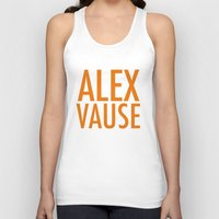 alex vause Tank Tops featuring Alex Vause (2) by Zharaoh
