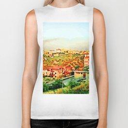 Catanzaro: view of the city Biker Tank