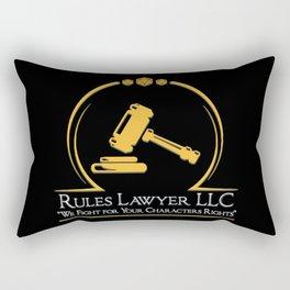 D&D - Rules Lawyer Rectangular Pillow