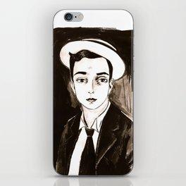 Buster Keaton per un'amica iPhone Skin