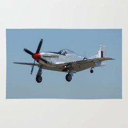 P-51 Mustang Rug
