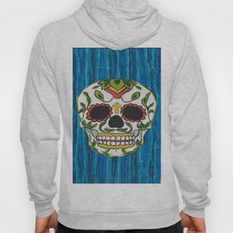DAY OF THE DEAD - ICE BLUE VOODOO Hoody