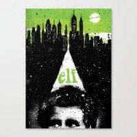 elf Canvas Prints featuring Elf by Dan K Norris