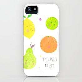 Friendly Fruit iPhone Case