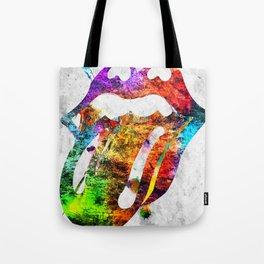 The Stones Logo Grunge Tote Bag