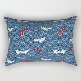 Fisherman's Adventure Day Rectangular Pillow