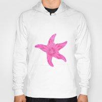 hawaiian Hoodies featuring Hawaiian Starfish by Teresa Chipperfield Studios