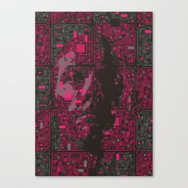 Ghost In The Machine Canvas Print