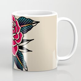 Rose Traditional Coffee Mug