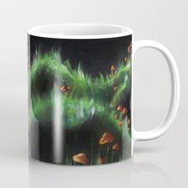 Meadow with Mushrooms and Moss: The Nude Coffee Mug