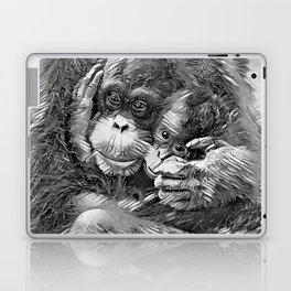 AnimalArtBW_OrangUtan_20170603_by_JAMColors-Special Laptop & iPad Skin