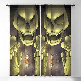 Skeletron- Terrarias Blackout Curtain