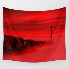 Scorching Seas Wall Tapestry